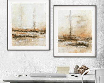 Printable art set of 2 digital prints wall decor instant download diptych art abstract digital print painting art line modern artwork decor