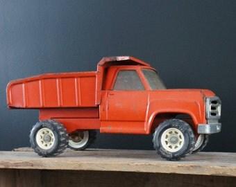 Dump truck toy etsy - Camion benne tonka ...