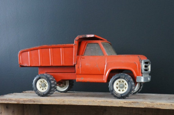 1960 1970 camion benne tonka dump truck vintage objet de - Camion benne tonka ...