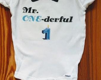 First birthday Onesie for Baby Boy