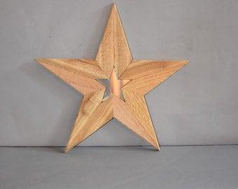 Wooden Star 5114