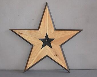 Wooden Star 5128