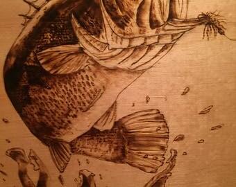 Bass Woodburning