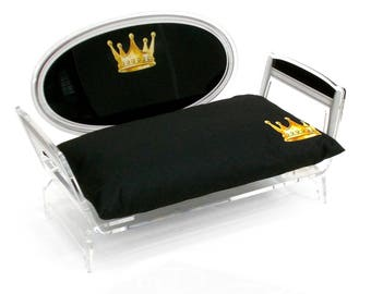 Acrylic Pet Bed for Small Dogs and Cats