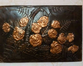 Copper Wall Decor copper wall art | etsy