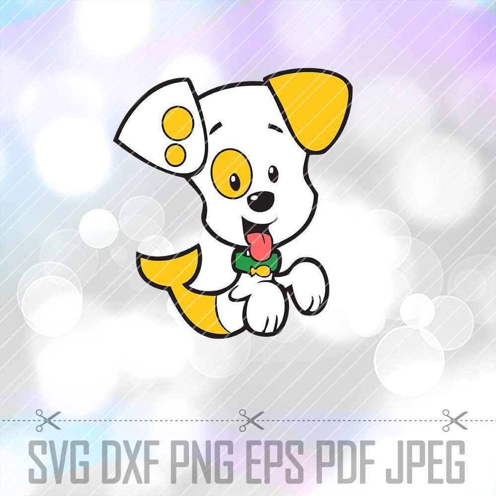 bubble guppies bubble puppy svg dxf eps png layered cut file