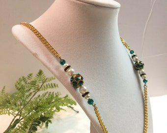 SALE! Gold Plated Chain with Beads