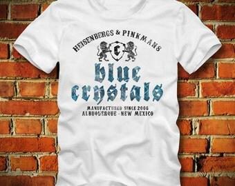 BOARDRIPPAZ Blue Crystals T SHIRT Heisenberg & Pinkman Albuquerque New Mexico Since 2008 Breaking Bad Shirt Walter White Crystal Meth Shirt