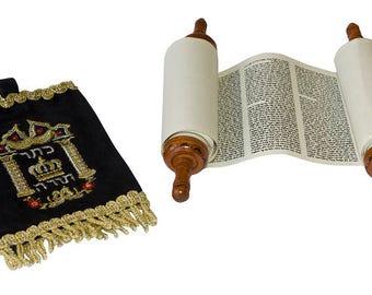Torah Scroll- From Israel in Hebrew