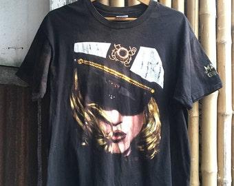 """Vintage 1993 """"Madonna-The Girlie Show"""" T-Shirt"""
