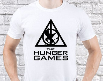 The Hunger Games/ Hunger Games/ Mockingjay Design/ men tshirt/ The Hunger Games tee/ Hunger Games tshirt/ Katniss Everdeen tee/ tee/ (HG01)
