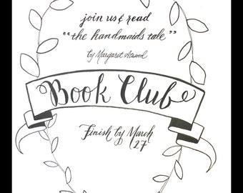Book Club Invitation