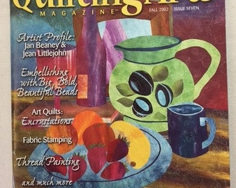 Quilting Arts Magazine, Fall 2002, Issue Seven