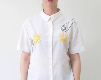 """My flowers"" shirt"