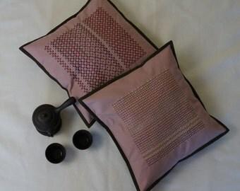 Sashiko pillow cases