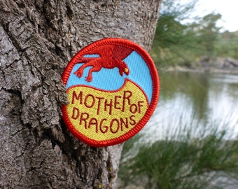 Dragon Mama Patch - Game Of Thrones Patch - GOT Patch - Dragon Patch - Khaleesi Patch - Targaryen Patch - Daenerys Patch - Fire Patch