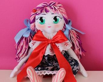 Lily-Handmade-handmade rag doll Rag Doll