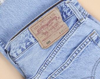 Vintage Mid Wash Levi's 501s UK 10