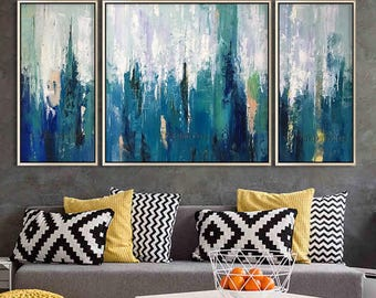 Abstract Painting Acrylic Painting Cuadros Original painting 3 pieces wall art cuadros Canvas Art painting Wall Pictures cuadros abstractos