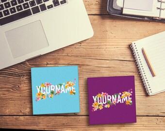 Name Coasters (set of 4)