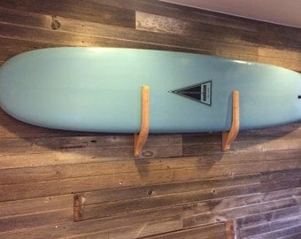 Solid Wood Surfboard Rack