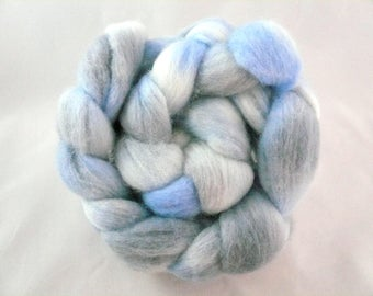 Hand Dyed Roving, Merino Roving, Hand Painted roving, Spinning fibers, felting, Roving,carded wool