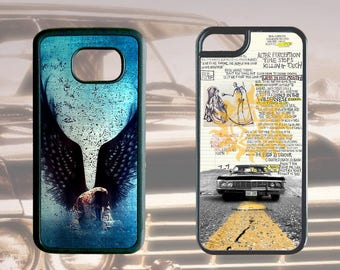 SUPERNATURAL Phone Cases for iPhone Samsung Galaxy & Galaxy Note