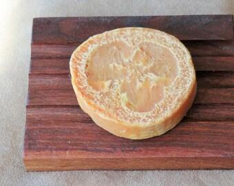 Loofah Raw Goat Milk Soap