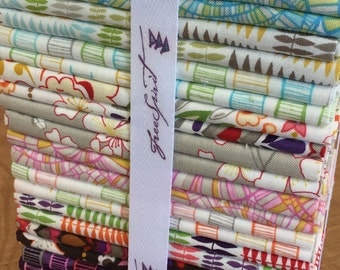 Wish by Valori Wells for Free Spirit Fabric 30 piece fat quarter bundle
