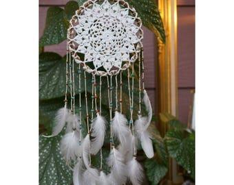 Crochet Dreamcatcher - Beaded