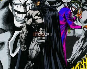 Batman & Joker print