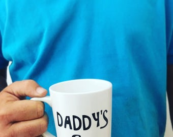 Personalized, Coffee Mug, Dad, Daddy's Coffee