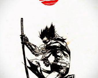 Wolverine Rising Sun
