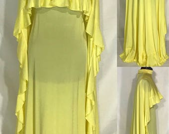 1970's Gown and Cape