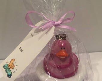 Custom Rubber Duck Soap- Alice in Wonderland- Chesire Cat