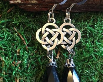 Celtic Knot Earrings.