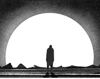 Melancholy Moon (Fine Art Print)