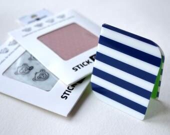 Sticker selfie smartphone - NAVY