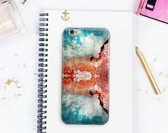 Crack On The Wall Stone Wall Texture iPhone 5/5s/SE  6Plus/6sPlus 6/6s iPhone 7 iPhone 7 Plus Phone Case Witty Novelty
