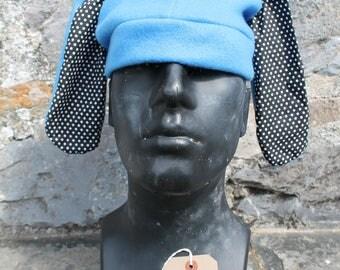 Blue Bunny Ear Hat