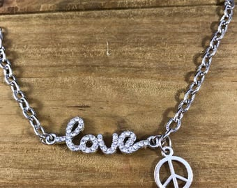 Love and Peace Bracelet