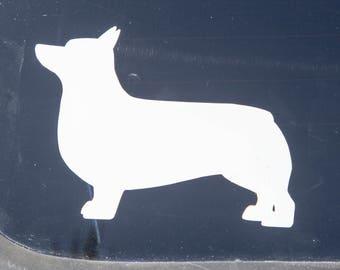 Corgi silhouette Vinyl Sticker