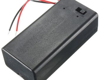9v Battery Box Pre-Wired with On / Off Switch SBH-9V
