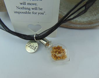 Faith Mustard Seed Necklace