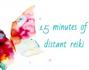 15 minutes distant reiki for you or someone special