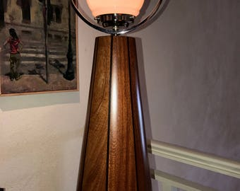 Unique Contemporary Art Deco table lamp./Design & implementation by Nikos Grafas / T.K. Art gallery.