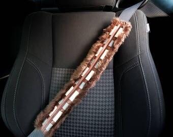 Chewbacca seatbelt cover