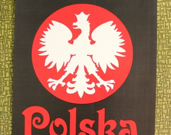 Polska Poland heat press transfer iron on for t-shirts, sweatshirts