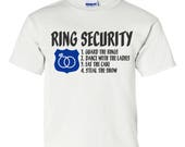 Ring Bearer Gift, Ring Security, Ring Bearer, Ring Security Shirt, Ring Bearer Shirt, bridal party shirts, bridal party gifts