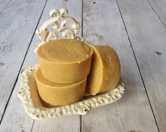 Jasmine Loofah Soap - Exfoliating Pedicure Foot Scrub - Cold Process - Vegan - Phthalate Free Fragrance